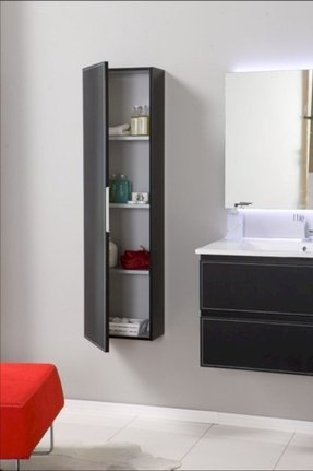 wall mounted linen cabinet 2 - Wall Mounted Bathroom Cabinet
