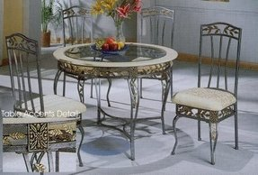 Wrought Iron Kitchen Sets - Ideas on Foter