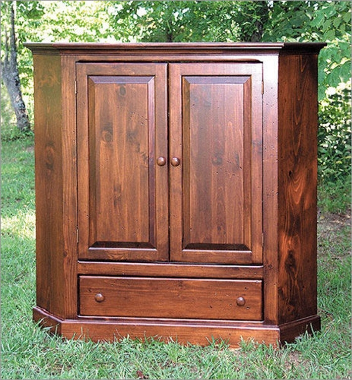 Beautiful Corner Tv Cabinet With Doors Style