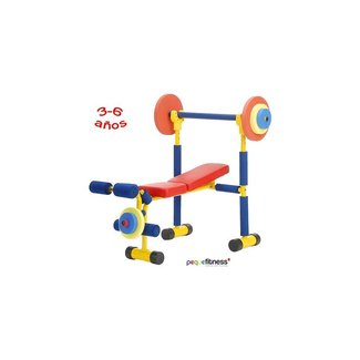 And fitness exercise equipment for kids weight bench set kids