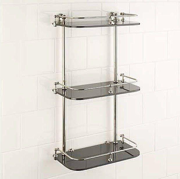 Gentil Bathroom Wall Shelves 1