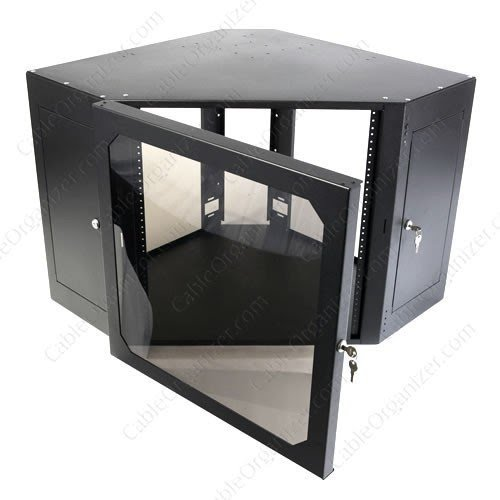 Corner Audio Cabinet 5