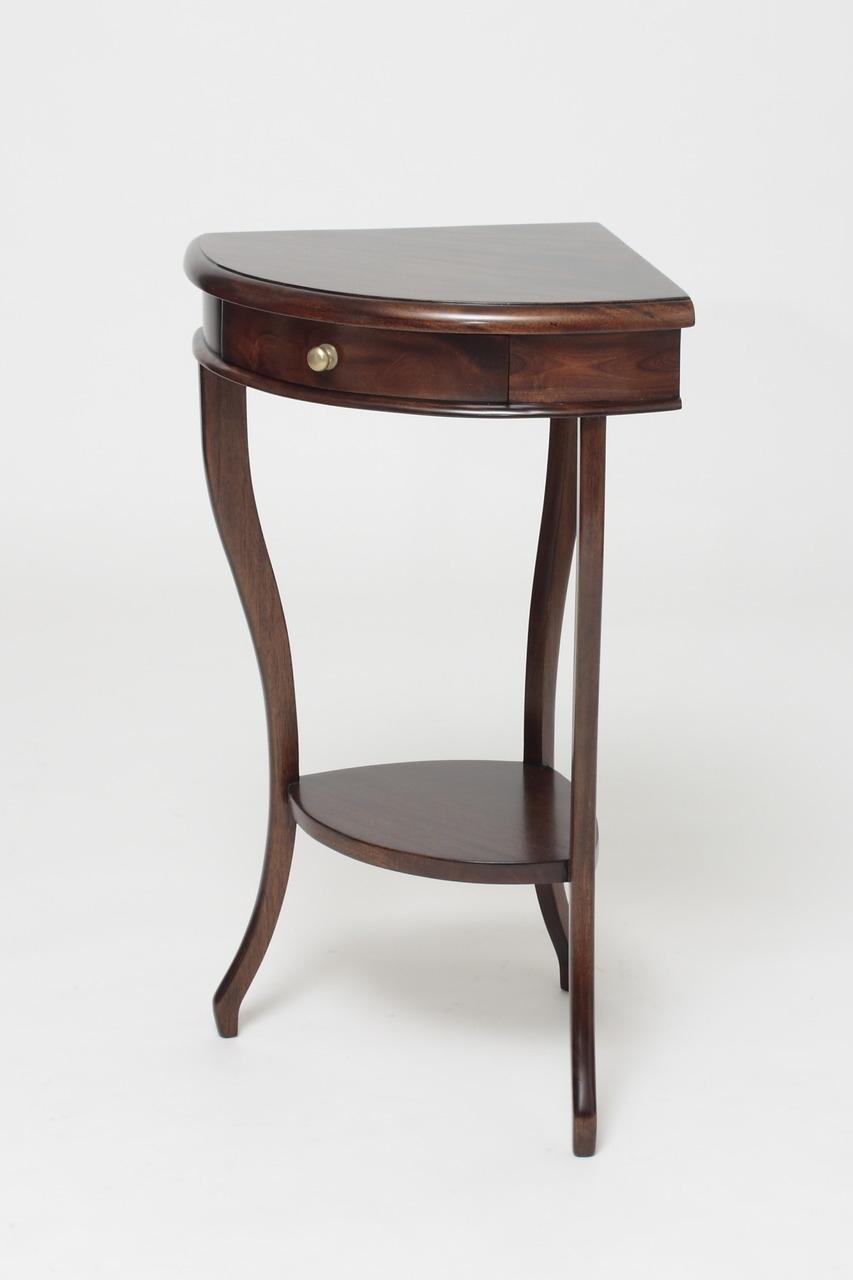 Corner Telephone Table 8