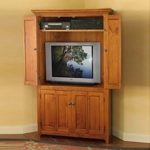 Beautiful Corner Tv Hutch