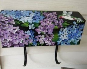 Decorative wall mount mailboxes 29