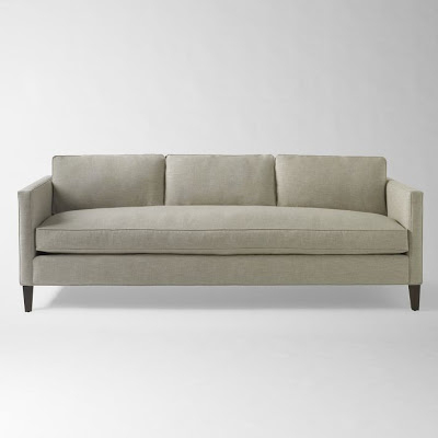Superbe Dunham Down Filled Sofa Box Cushion West Elm 8
