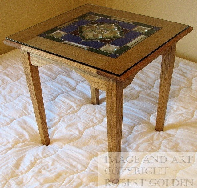 End Tables With Glass Tops 1