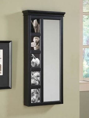 Wall Mirror With Jewelry Storage Foter