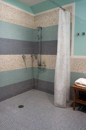 Glossy Bathroom Tiles