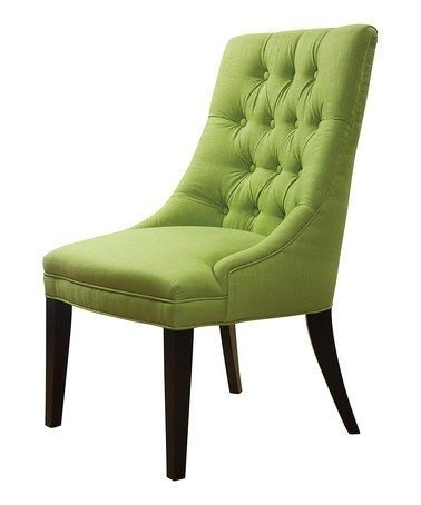 Attirant Lime Green Accent Chair 2