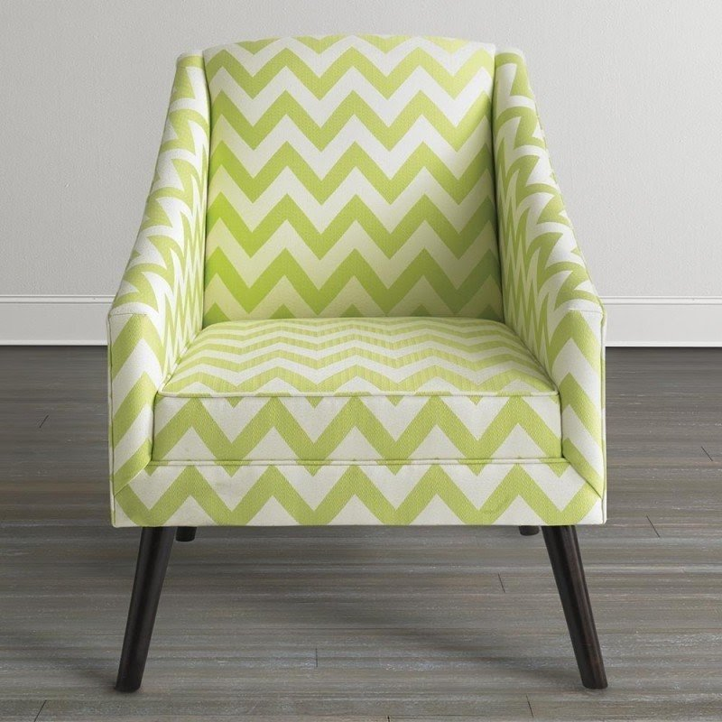 Trend Green Accent Chair Decoration