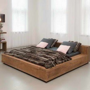 Simple Wooden Bed Frame Collection