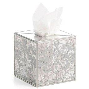 Mirrored Tissue Box Cover