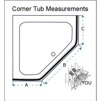 Corner Bathtub Sizes For 2020 Ideas