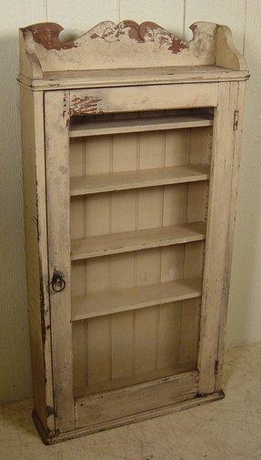 Oak Hanging Curio Cabinet 3