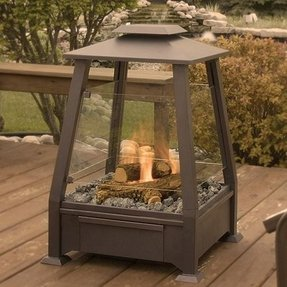 Outdoor electric fireplaces 4