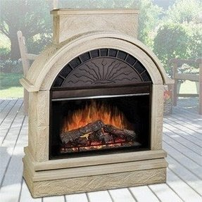Outdoor Electric Fireplaces Ideas On Foter