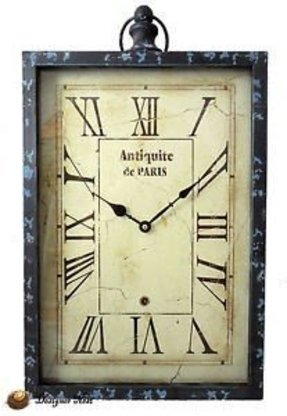 Rectangle Wall Clocks Foter