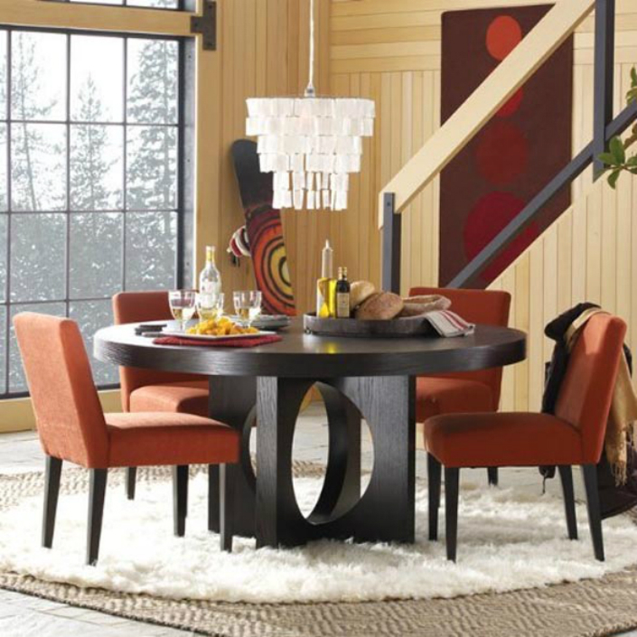 Round dining room sets model round dining room sets model & Round Dining Room Sets With Leaf - Foter