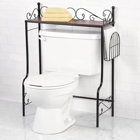 Scroll Over The Toilet Tank Bathroom Storage Shelf Rack Esaver