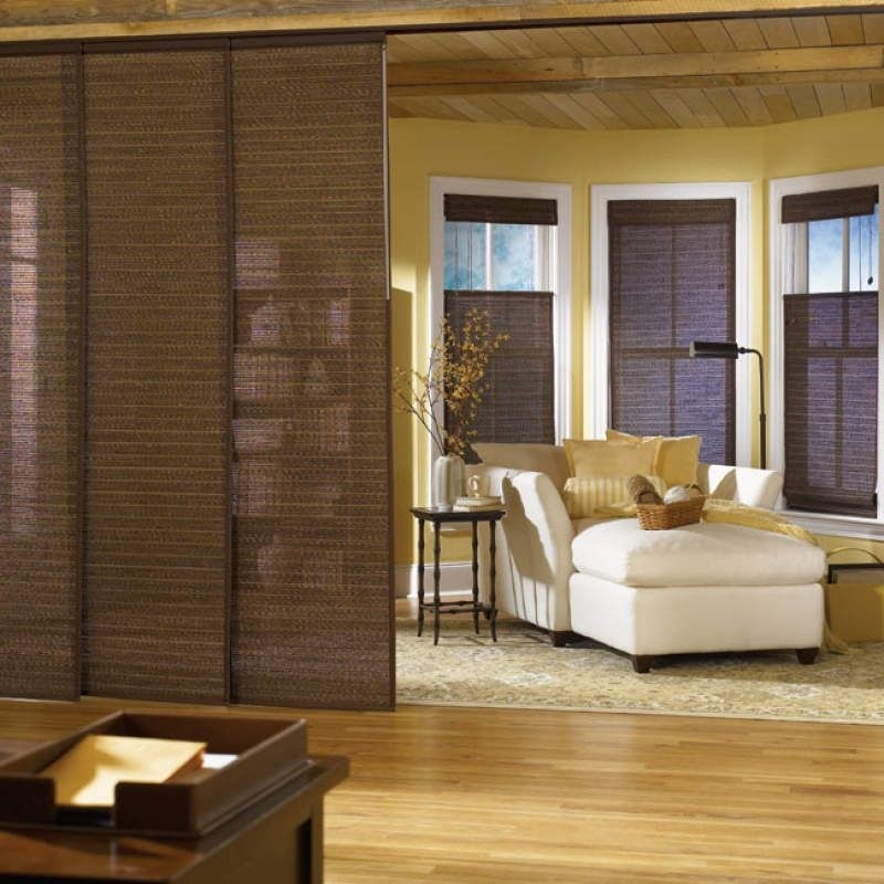 Sliding Panels As A Room Divider