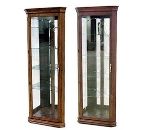 Solid wood curio cabinets 3