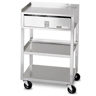 Stainless steel carts with drawers 3