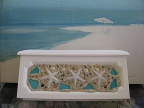 Starfish wall mount mailboxseashell 1