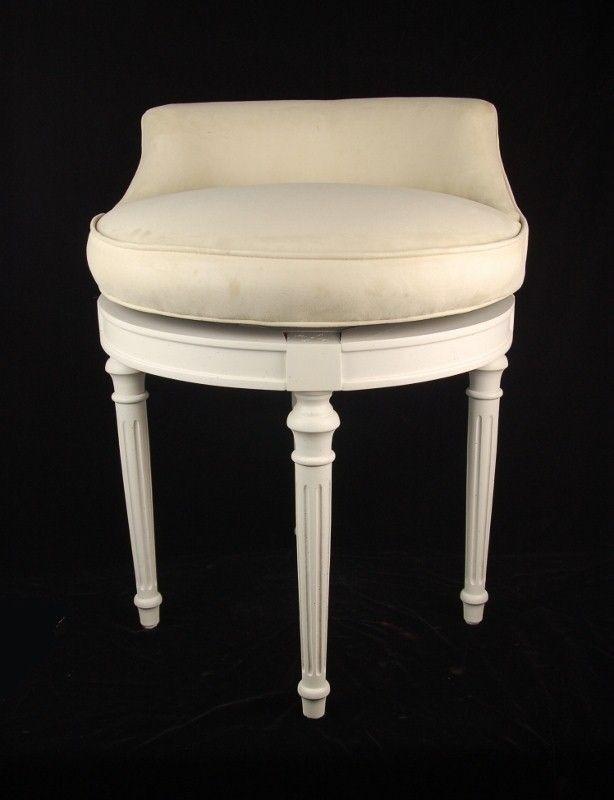 Charmant Swivel Vanity Stool Chair