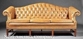 Leather Camel Back Sofa Foter
