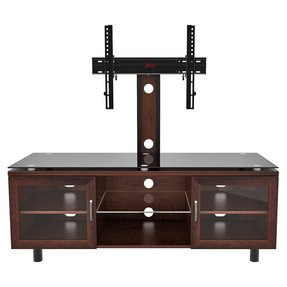 Z line designs merako espresso tv stand with integrated mount