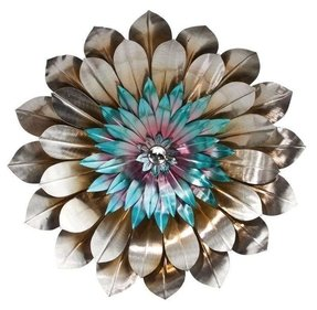Cape craftsmen bohemian rhapsody metal flower wall decor 1