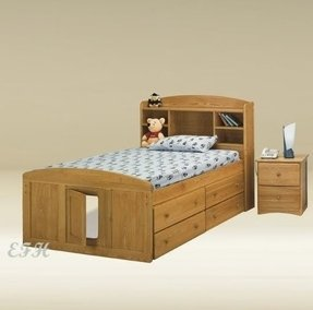 Solid Wood Captains Bed Twin Ideas On Foter