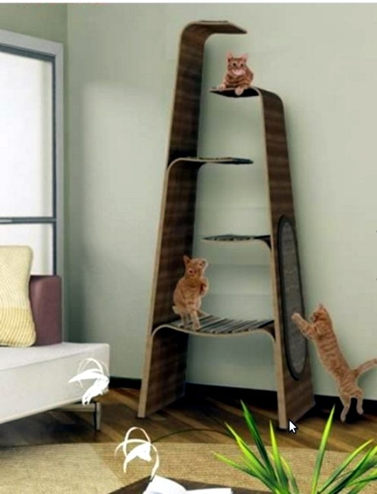 Amazing Eco Friendly Cat Tree