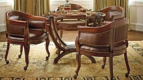 Round Game Table And Chairs Ideas On Foter