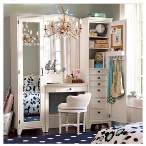 Bedroom Vanity With Storage Foter