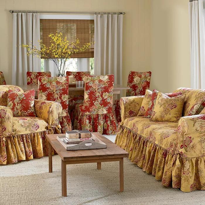 Superb Printed Sofa Slipcovers 2