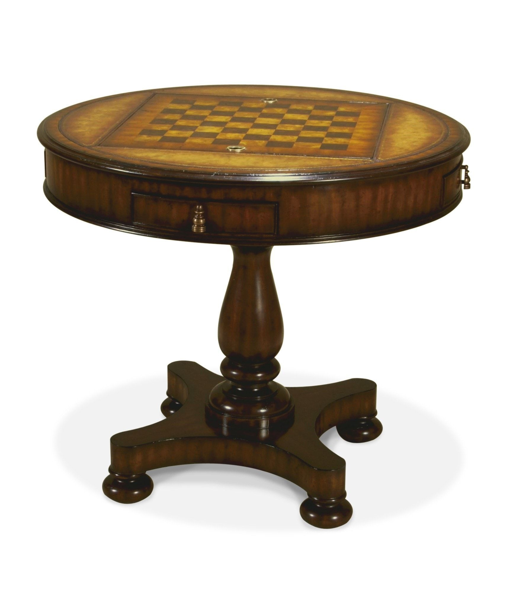 Round Chess Table 4