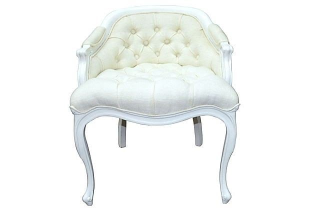 Attirant Tufted Vanity Stool 3