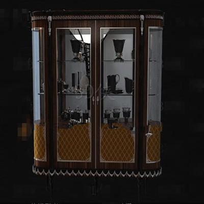Wine Glass Cabinets 3