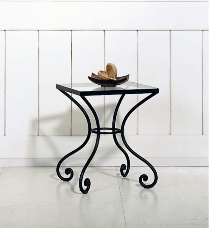 Wrought Iron Bedside Table 3