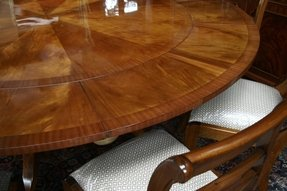 Round Dining Table For 6 With Leaf Ideas On Foter