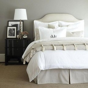 Black and white stripe bedding 1