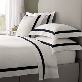 Black and white stripe bedding 27