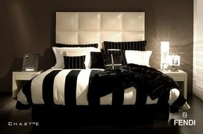 Black and white stripe bedding 3