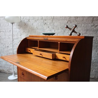Contemporary roll top desk