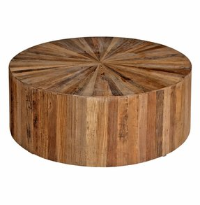 Solid Wood Round Coffee Table Foter