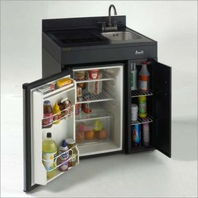 Designer mini fridge 1