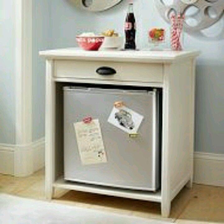 Over Mini Fridge Table House Designer Today - Mini fridge side table