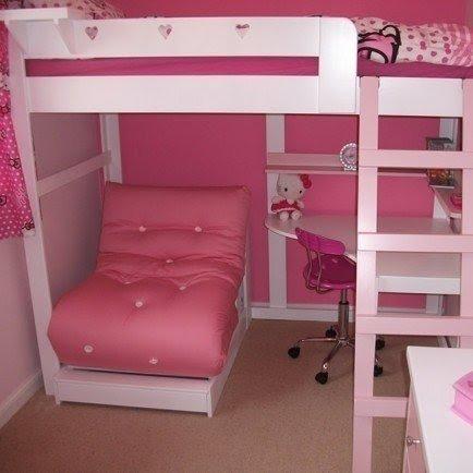 Loft Bed With Built In Desk Foter